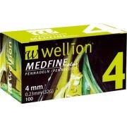 JEHLY WELLION MEDFINE PLUS PRO VŠECHNA INZULÍNOVÁ PERA VEL.32GX4MM,100KS