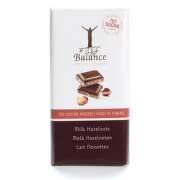 Balance Mléčná čokoláda s lísk.ořechy b.cukru 100g