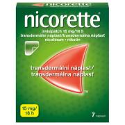 NICORETTE INVISIPATCH 15MG/16H transdermální EMP 7