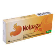 NOLPAZA 20MG enterosolventní tableta 14
