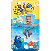 HUGGIES Little Swimmers 2-3 / 3-8kg 12ks