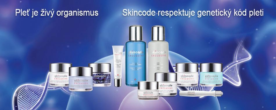 Švýcarská kosmetika Skincode