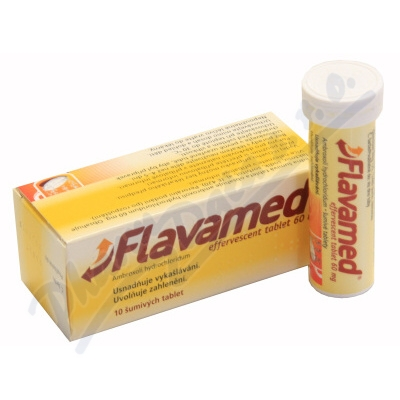 FLAVAMED EFFERVESCENT TABLET 60 MG 60MG šumivá tableta 10 I