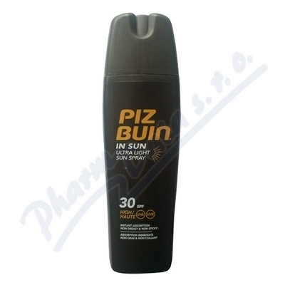 PIZ BUIN SPF30 IN SUN Ultra Light Spray 200ml