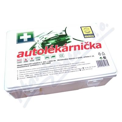Autolékárnička Agba, plastová, 341/2014