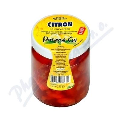 Čaj pečený NOTEA Citron se zázvorem 55ml