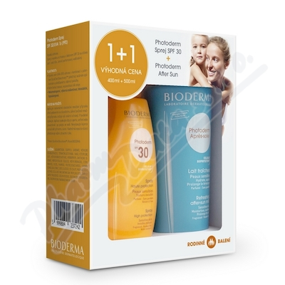 BIODERMA Photoderm Family Spr.SPF30 400ml+AfterSun
