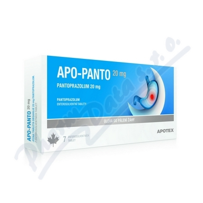 APO-PANTO 20MG enterosolventní tableta 14