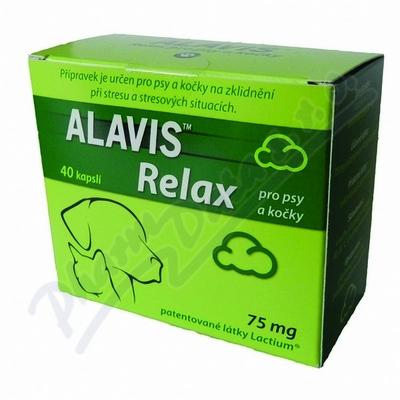 ALAVIS RELAX pro psy a kočky cps.40