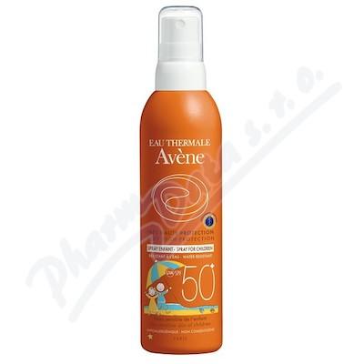 AVENE Spray 50+ enf 200ml-opal. sprej pro děti 50+ + dárek AVENE Lotion micellaire 100ml micelární voda zdarma