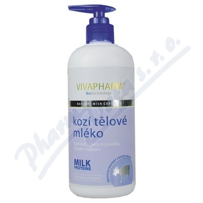 Kozí tělové mléko s kozím mlékem Vivapharm 400ml