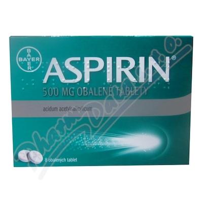 ASPIRIN 500MG obalené tablety 8