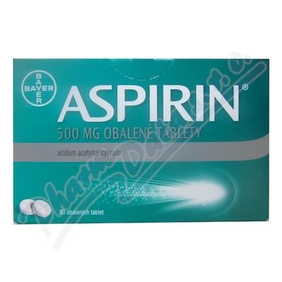 ASPIRIN 500MG obalené tablety 80