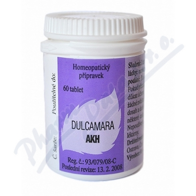 DULCAMARA AKH perorální neobalené tablety 60XC99
