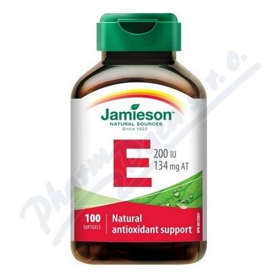 JAMIESON Vitamín E 200 IU tbl.100