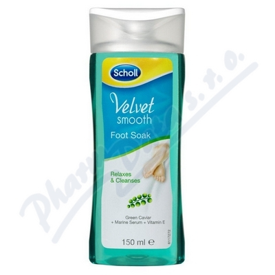 SCHOLL Velvet Smooth Koupel na nohy 150ml
