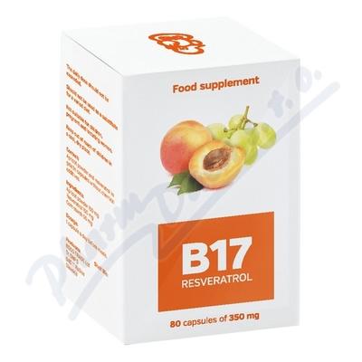 B 17 Resveratrol cps.80