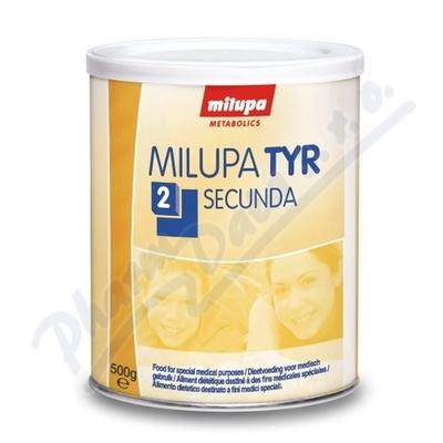 MILUPA TYR 2 SECUNDA perorální PLV 1X500G