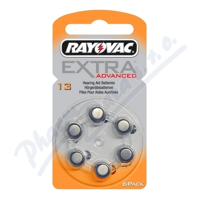 Baterie Rayovac Extra Advanced 13 / PR48 6ks
