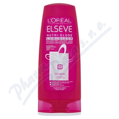 LOREAL Elseve balzám NUTRI GLOSS LUMIN 200ml