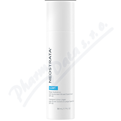 NEOSTRATA CLARIFY Sheer Hydration SPF40 50ml