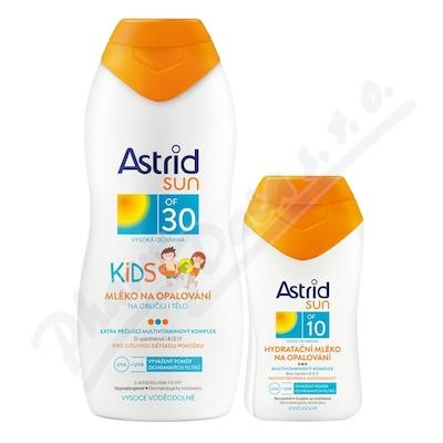 ASTRID SUN Dětské mléko OF30 200 ml + OF10 100ml