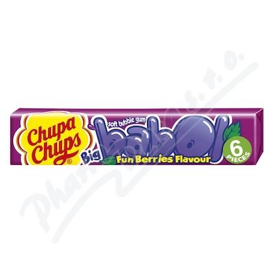 CHUPA CHUPS žvýkačky Big Babol Fun Berries 28g