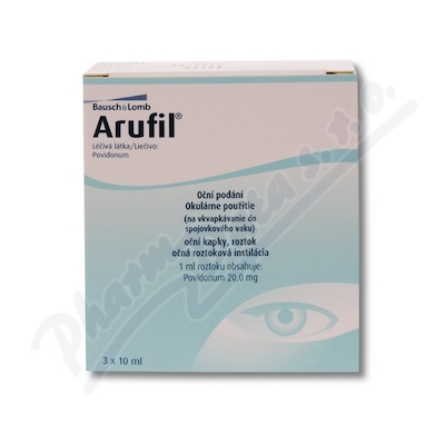 ARUFIL 20MG/ML OPH GTT SOL 3X10ML II