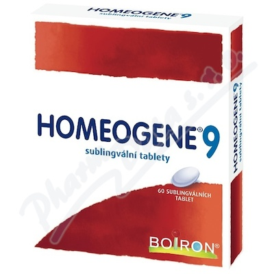 HOMEOGENE 9 sublingvální tableta 60