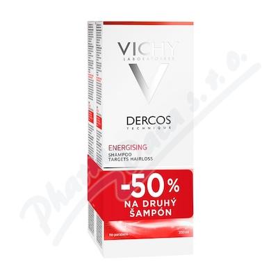 VICHY Dercos šampon posilující DUO 2x200ml