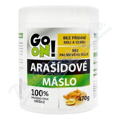 GO ON! Arašídové máslo 470g