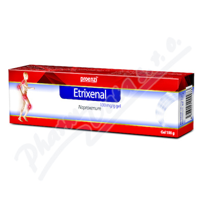 ETRIXENAL 100MG/G gely 100G