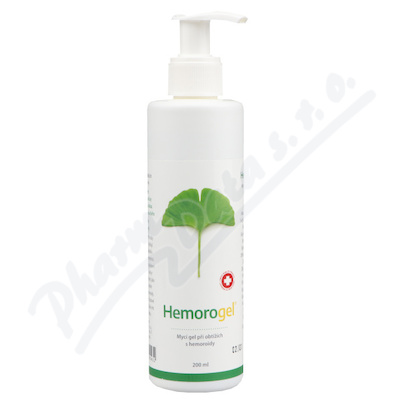 GINKO GEL mycí gel 200 ml