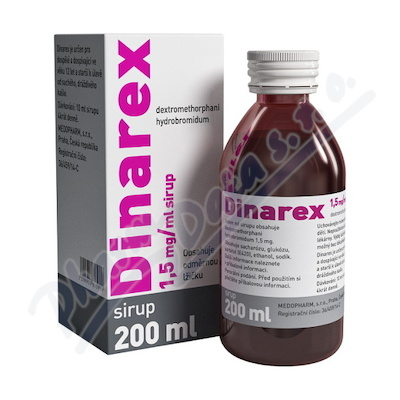 DINAREX 1,5MG ML sirup 1X200ML I