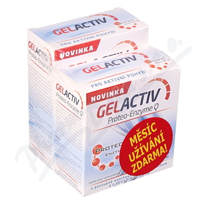GelActiv Proteo-Enzyme Q tbl.120+60 tbl. ZDARMA