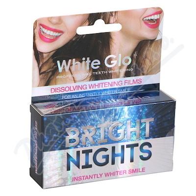 WHITE GLO Bělící film na zuby 6 ks