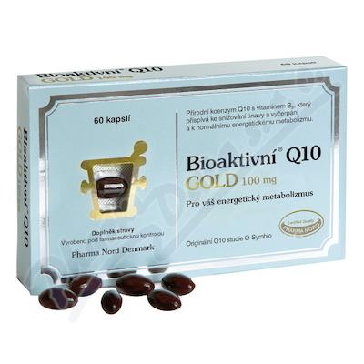 Bioaktivní Q10 Gold 100mg cps.60