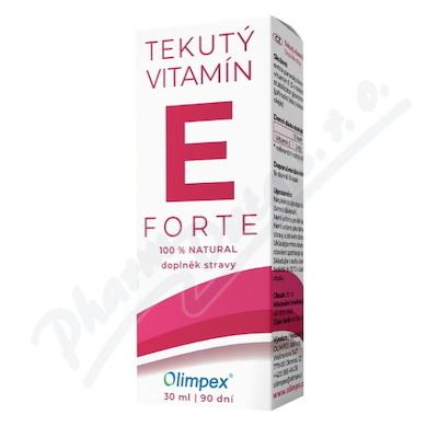 OLIMPEX Tekutý vitamín E FORTE 30 ml