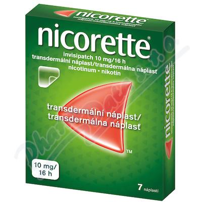 NICORETTE INVISIPATCH 10MG/16H transdermální EMP 7 II