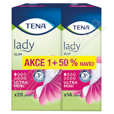 TENA Lady Slim Ultra Mini 50 percent ink.vlož 42ks 211482
