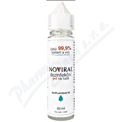 NOVIRAL dezinfekční gel na ruce 60ml