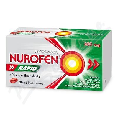 NUROFEN RAPID 400MG měkké tobolky 30