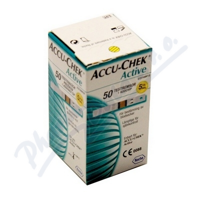 PROUŽKY DIAGNOSTICKÉ ACCU-CHEK ACTIVE 50 INZ.REŽ.U DM,50KS