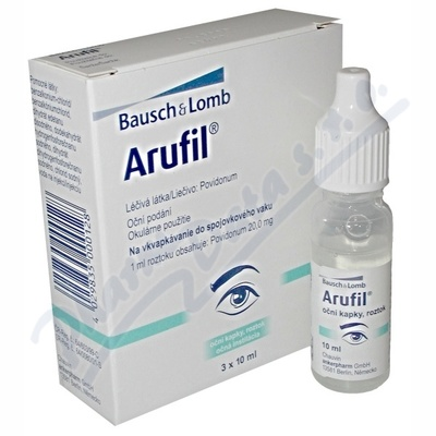 ARUFIL 20MG/ML OPH GTT SOL 3X10ML