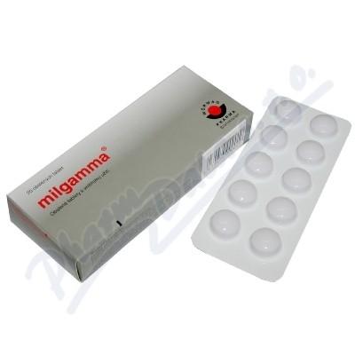 MILGAMMA 50MG/250MCG obalené tablety 20