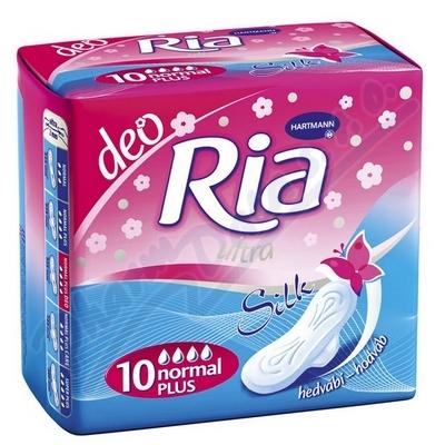 DHV Ria Ultra Silk Normal Plus Deo 10ks