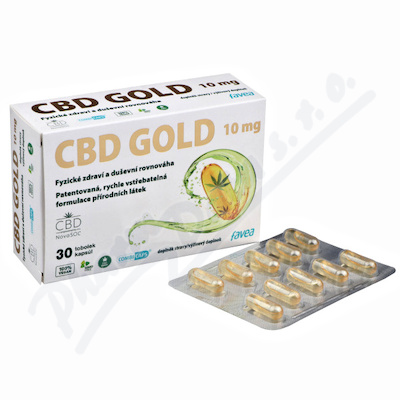 Favea CBD Gold 10mg tob.30
