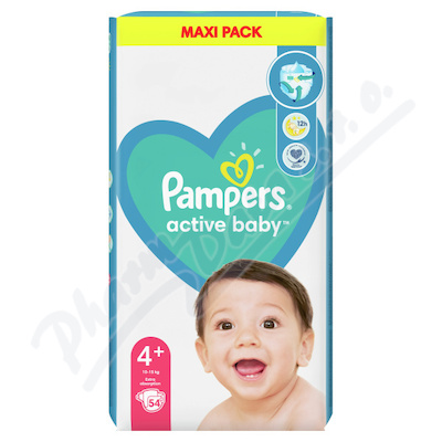 Pampers Active Baby VPP 4 Maxi Plus 54ks