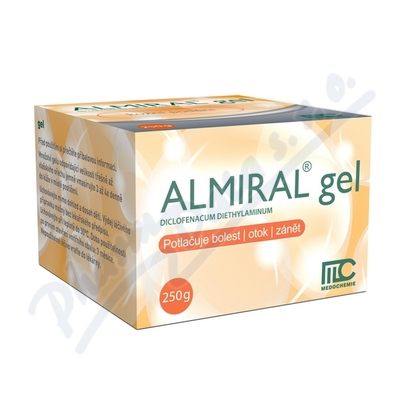 ALMIRAL 10MG/G gel 250G