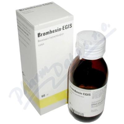 BROMHEXIN-EGIS 2MG/ML perorální SOL 60ML